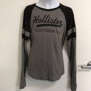 Hollister Long Sleeve T-Shirt Sz L